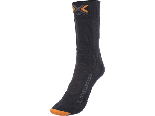X-Socks Trekking Light & Comfort Chaussettes Homme, charcoal/anthracite